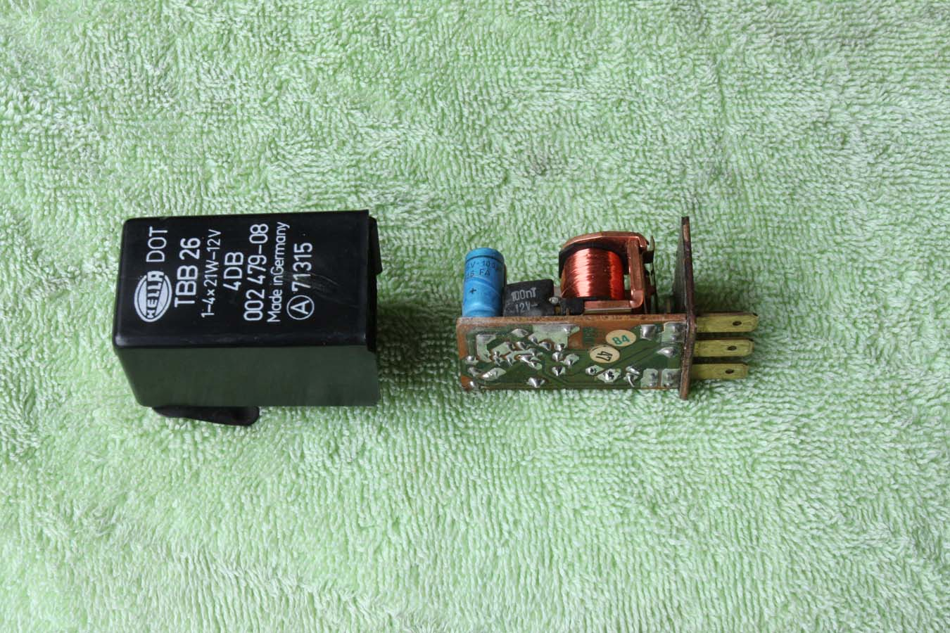 turn signal flasher evaluation and repair